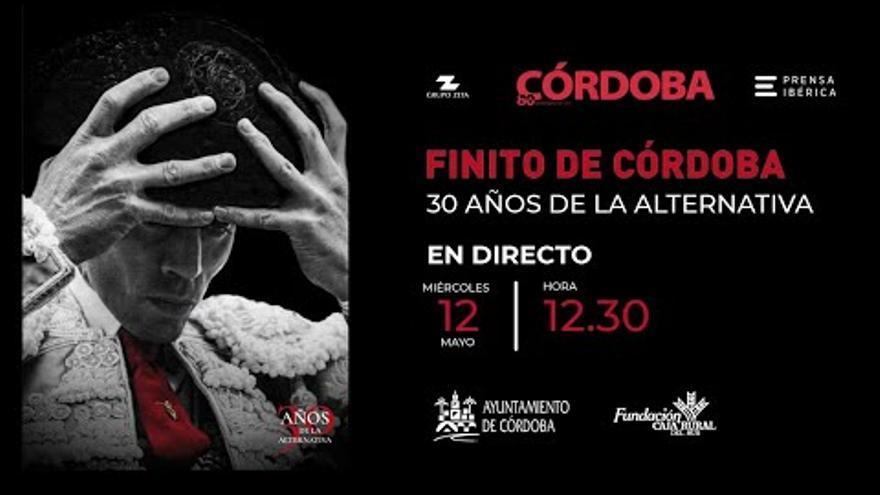 Homenaje a Finito de Córdoba en el 30 aniversario de su alternativa