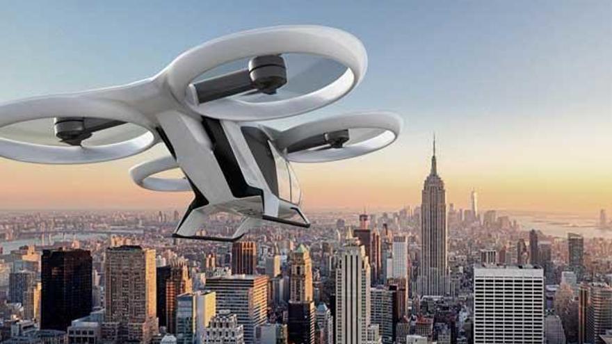 Airbus provarà un prototip de taxi volador l'any 2018