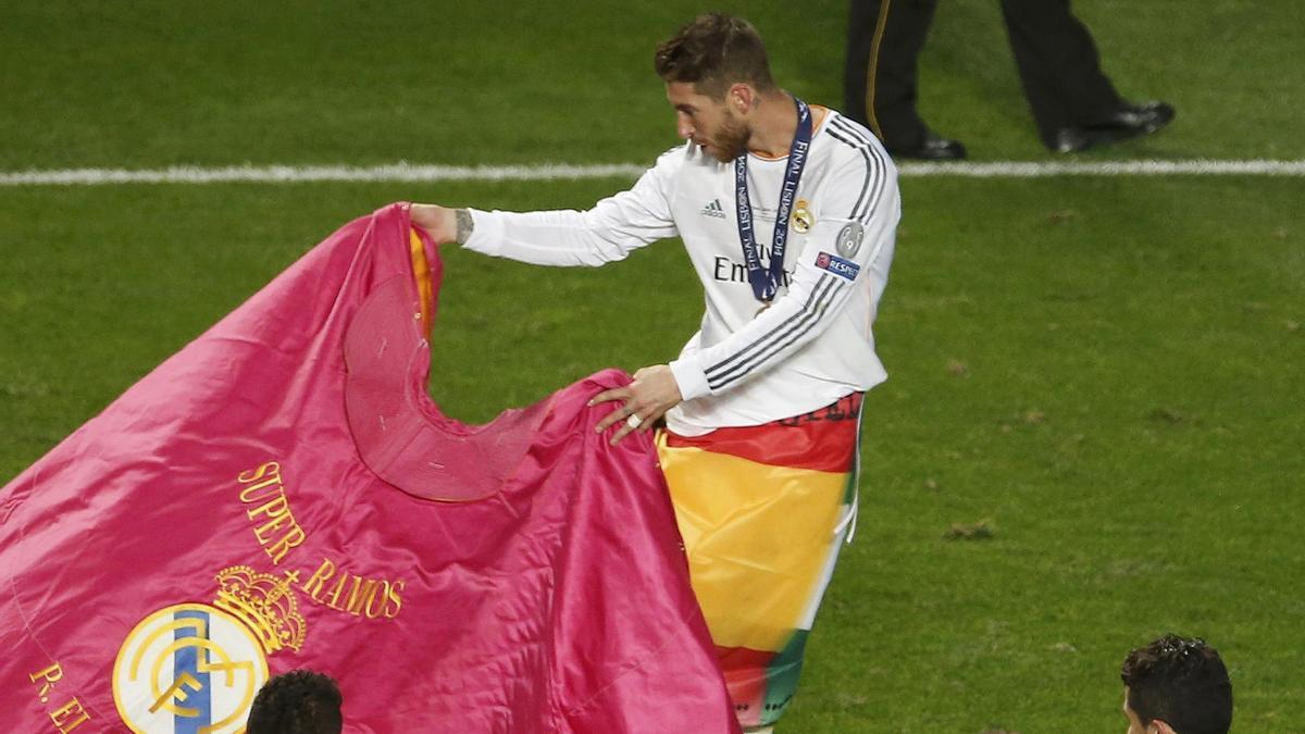 La trayectoria de Sergio Ramos en el Real Madrid, en imágenes