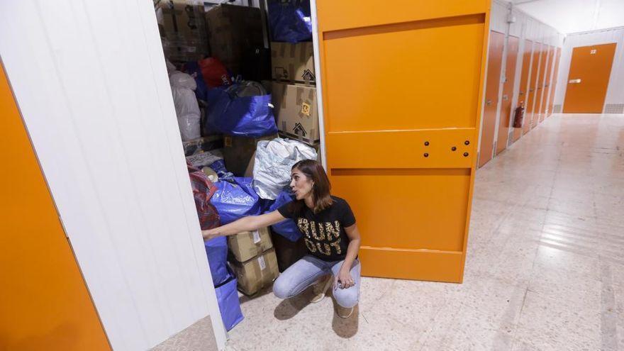 La covid frena el alquiler de trasteros para guardar enseres en la Región