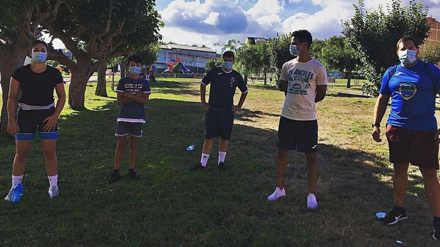 El Keltoi de Cruces vuelve a los entrenamientos cinco meses después