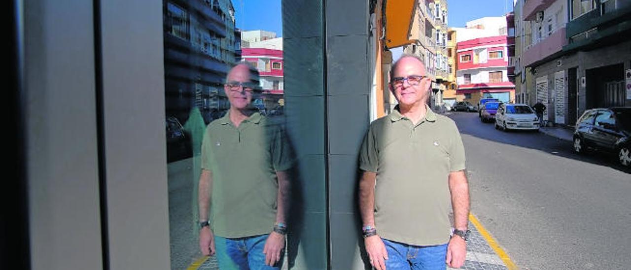 José Antonio Cardoso, presidente de la Asociación Cultural y Solidaria.