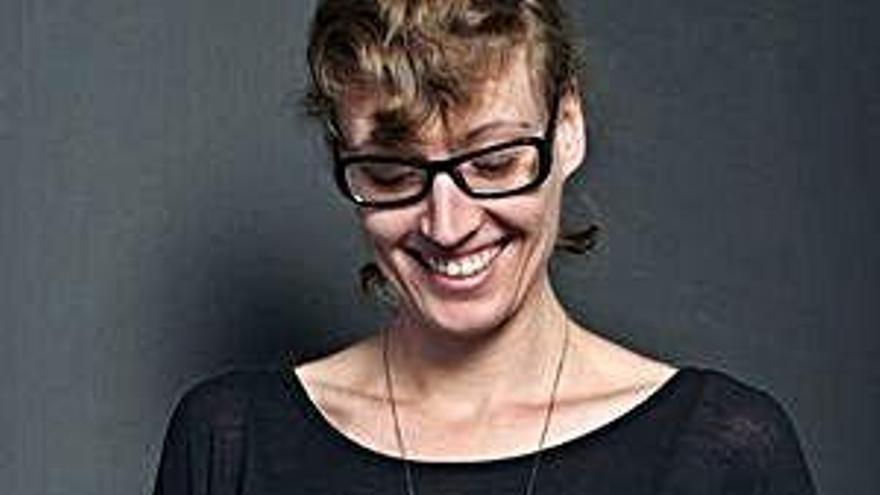 A artista coruñesa Sara Coleman, protagonista do 'Zigzag' da TVG