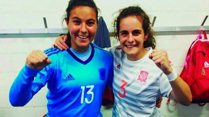 Las deportivistas Tere y Malena, campeonas de Europa sub 19
