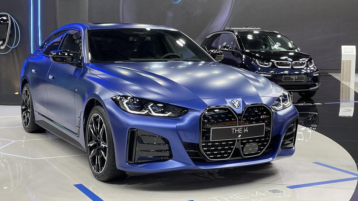 Novedades del Automobile Barcelona 2021: BMW i4