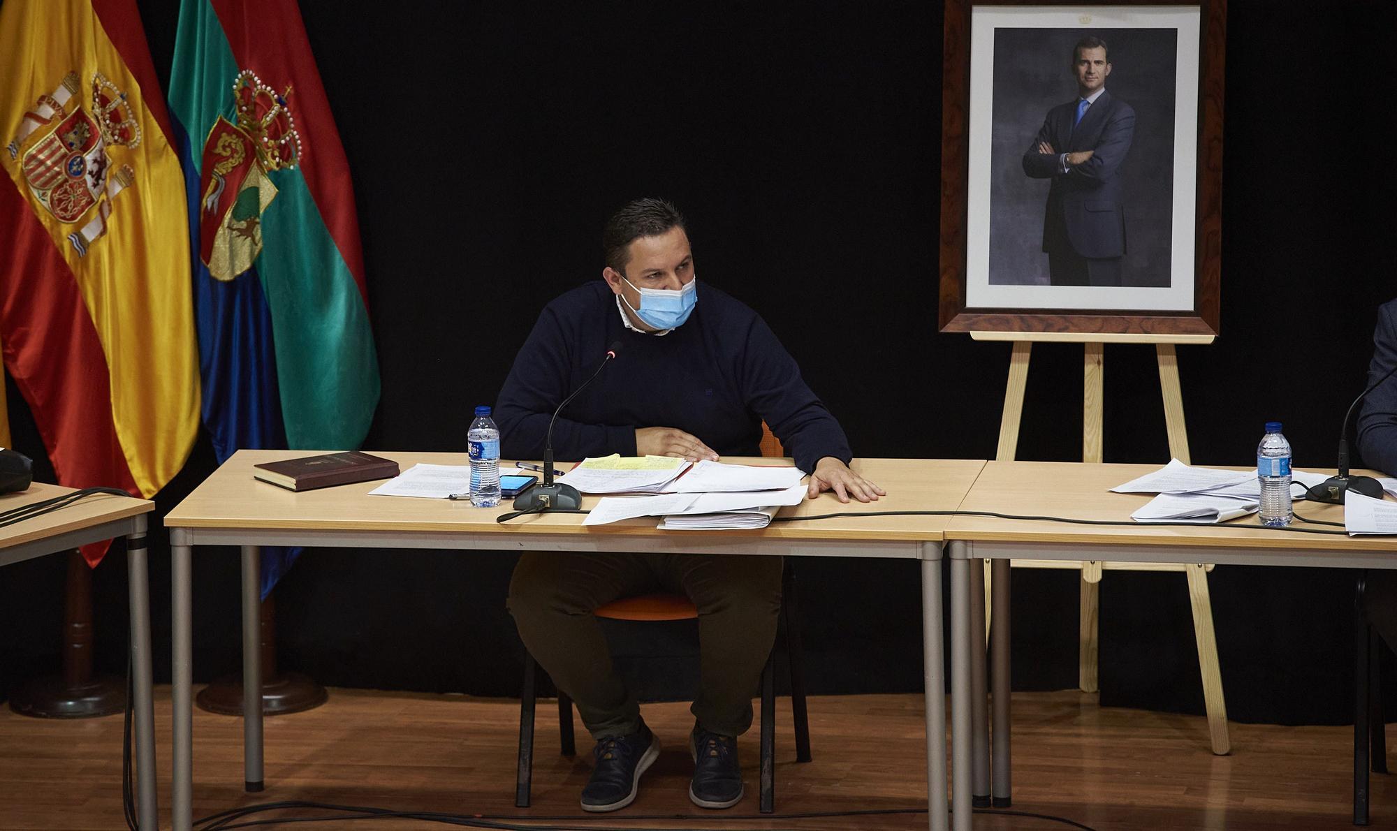 Pleno del Ayuntamiento de Arona, 26 de noviembre de 2020