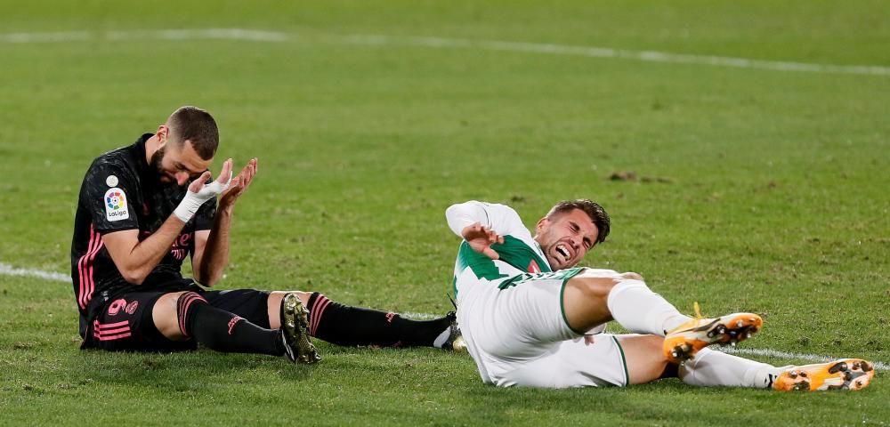 LaLiga Santander: Elche - Real Madrid.