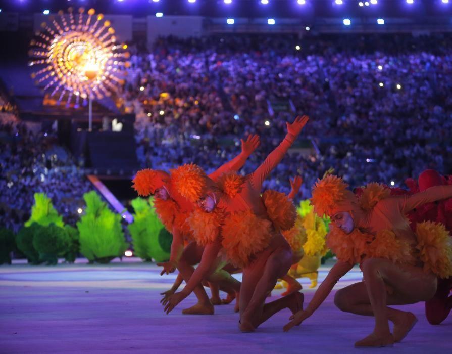 Ceremonia de clausura de las Olimpiadas 2016