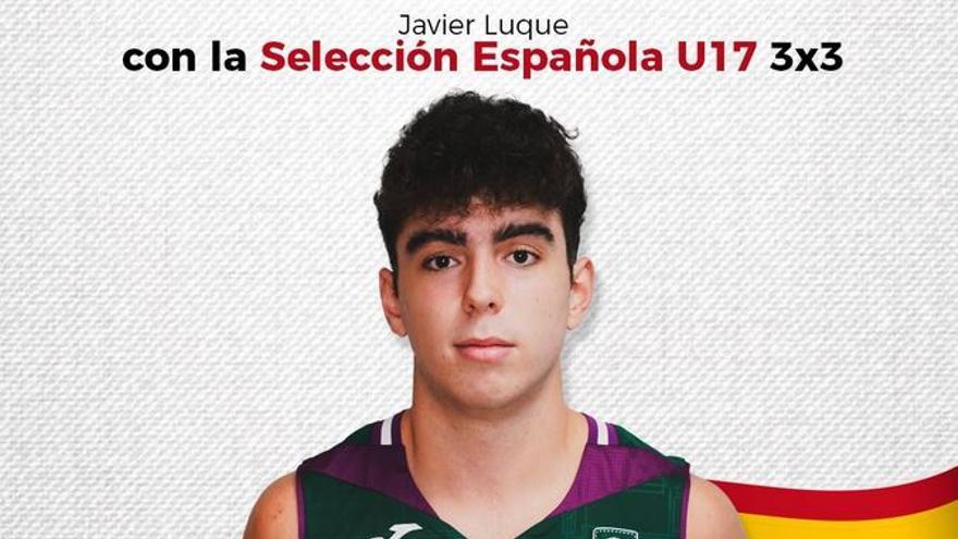 Javier Luque, canterano del Unicaja, convocado con la Selección Española