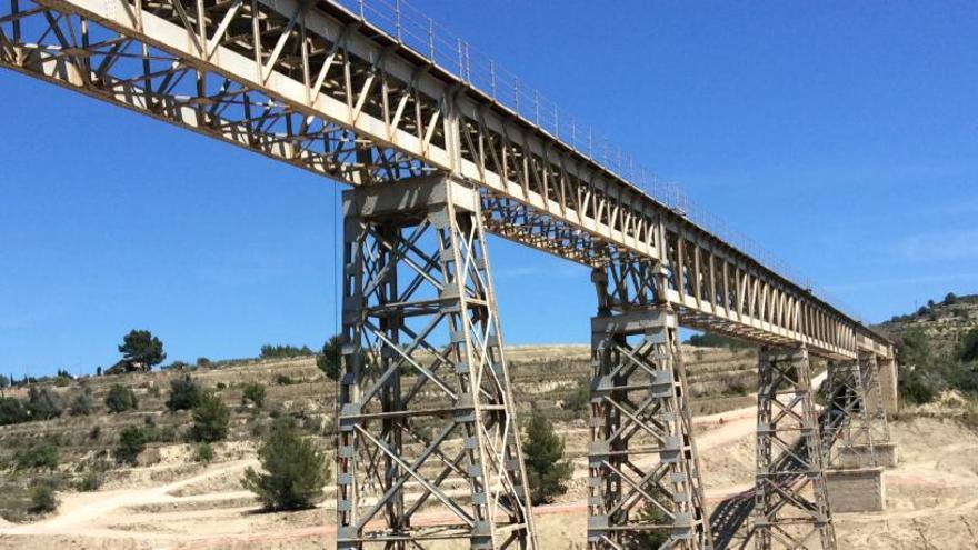 El Consell salva el puente centenario de Benissa, pero no podrán pasar los trenes duales