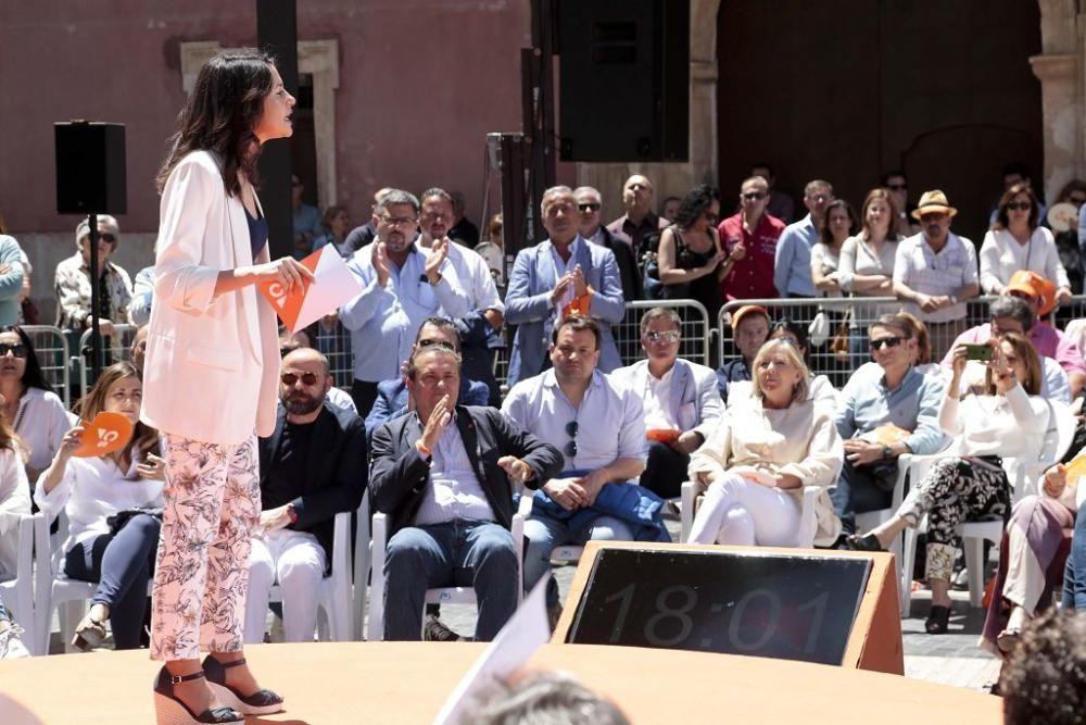 Inés Arrimadas en Murcia