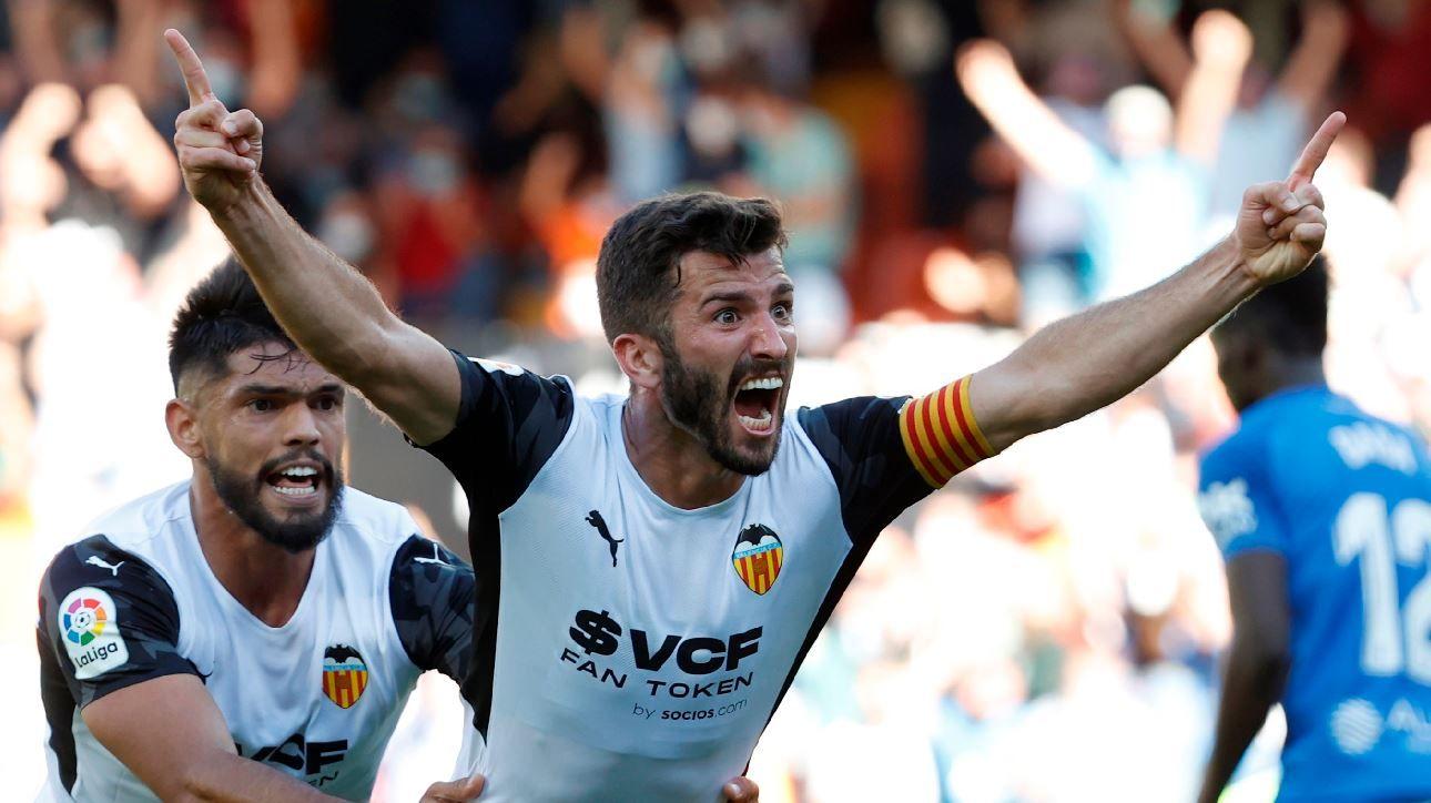 El Valencia CF - RCD Mallorca (2-2), en imágenes