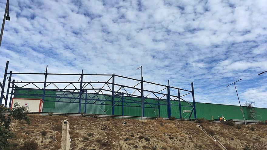 Un trabajador fallece en las obras de ampliación de la planta de basuras de El Campello