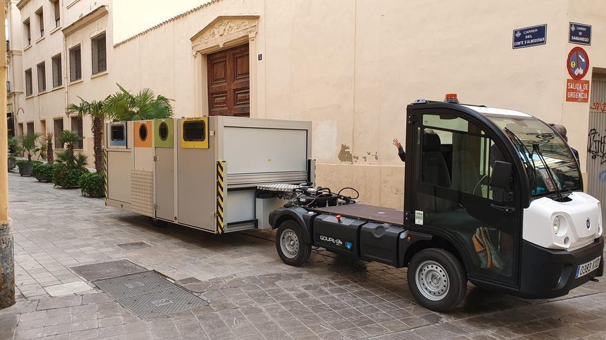 Estos son los nuevos contenedores de basura de València