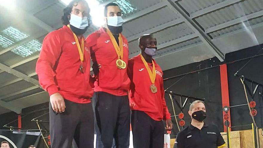 5 medalles per al GEiEG d'halterofília