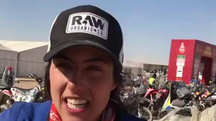 Sara García cumple su sueño