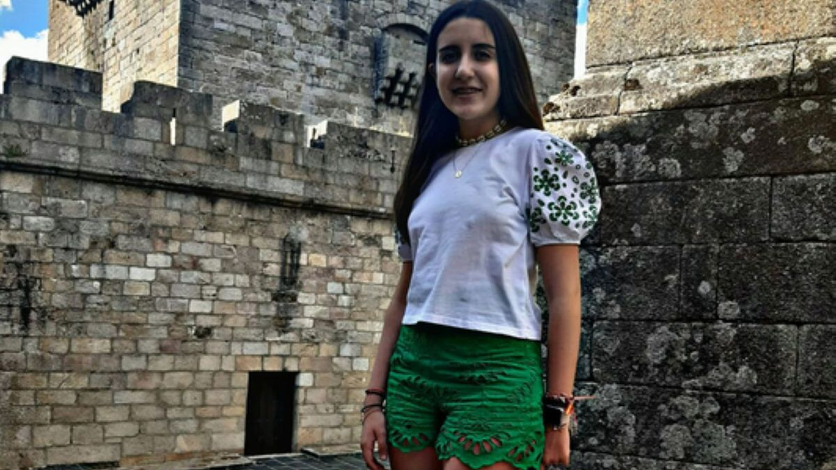 Natalia Muelas Fernández, primer Premio MT Secundaria. | E. P.