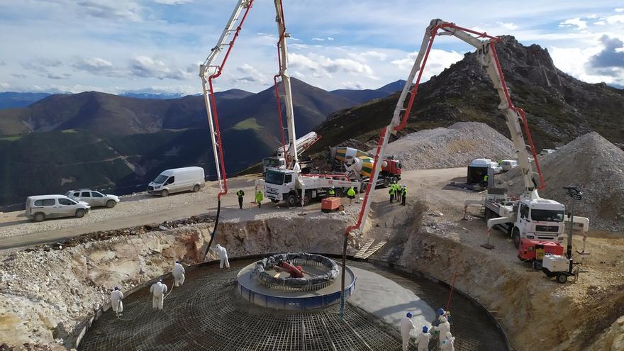 Impulsan otros dos parques eólicos con 24 torres de 200 metros que afectan a Somiedo