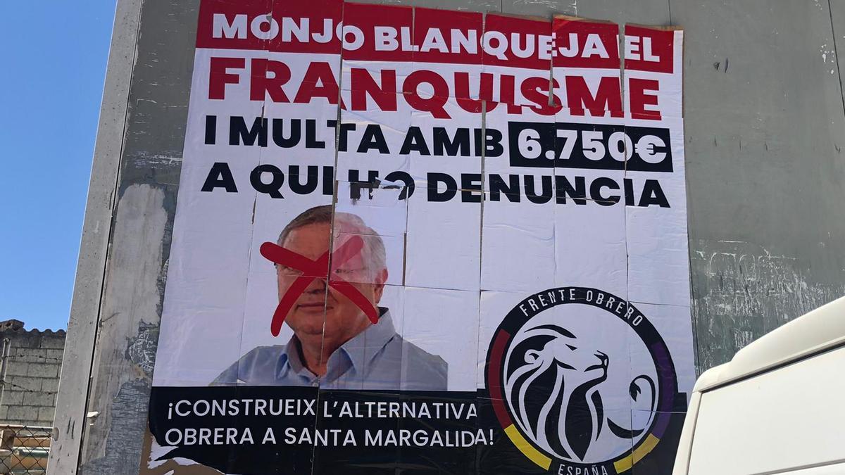 """Aparecen en Santa Margalida pintadas que acusan al alcalde Monjo de """"cacique"""""""