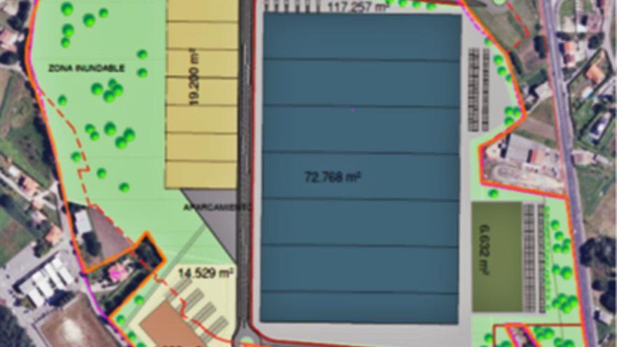 Xestur encarga el proyecto de urbanización del parque industrial de Pontecesures