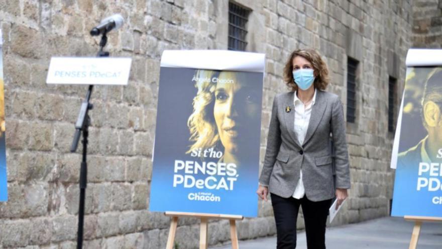El PDeCAT impulsa Àngels Chacón per aconseguir representació al Parlament