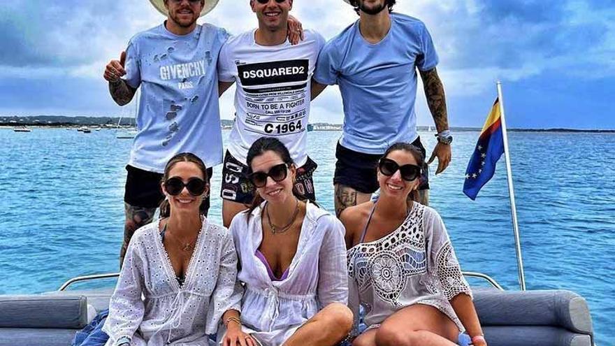 Los futbolistas apuran sus vacaciones