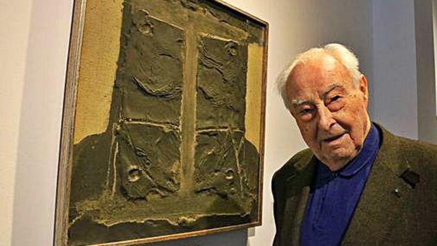 Proposen rellegir l'obra d'Antoni Tàpies segons les «preocupacions actuals»
