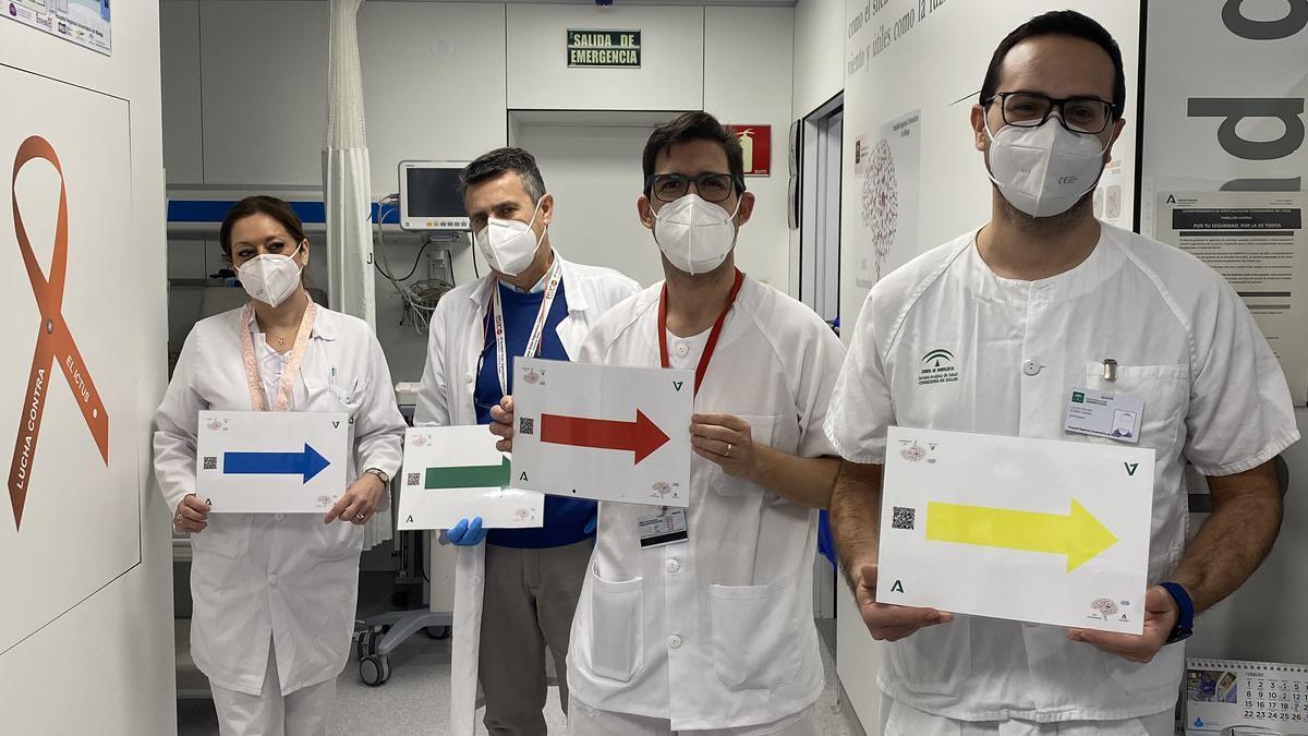 Enfermeros del 'Proyecto Flecha'