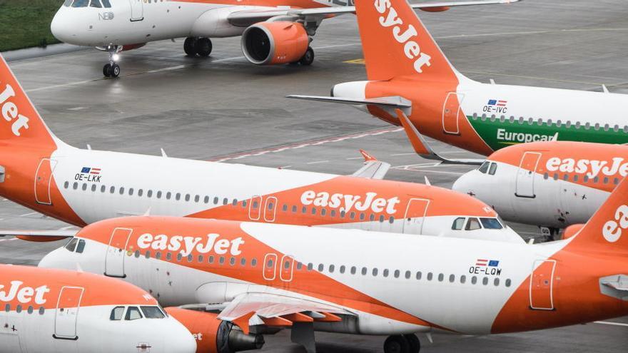 easyJet esconderá este jueves vuelos de ida y vuelta en las calles del Centro de Málaga