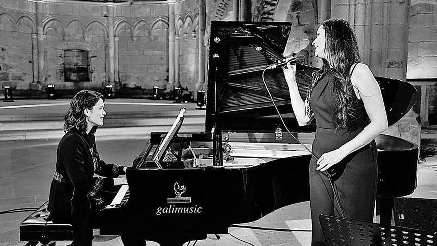 """A TVG emite hoxe o concerto """"Un canto á vida"""" con Rosa Cedrón e Cristina Pato"""