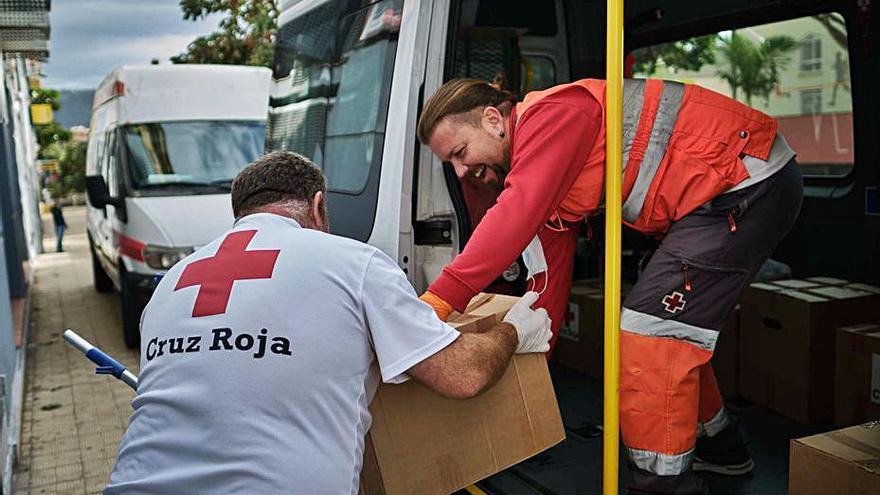 La crisis reduce los ingresos del 52% de las familias que atiende Cruz Roja