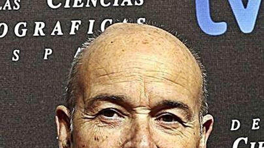 Antonio Resines, premiado por el Festival de Televisión de Vitoria