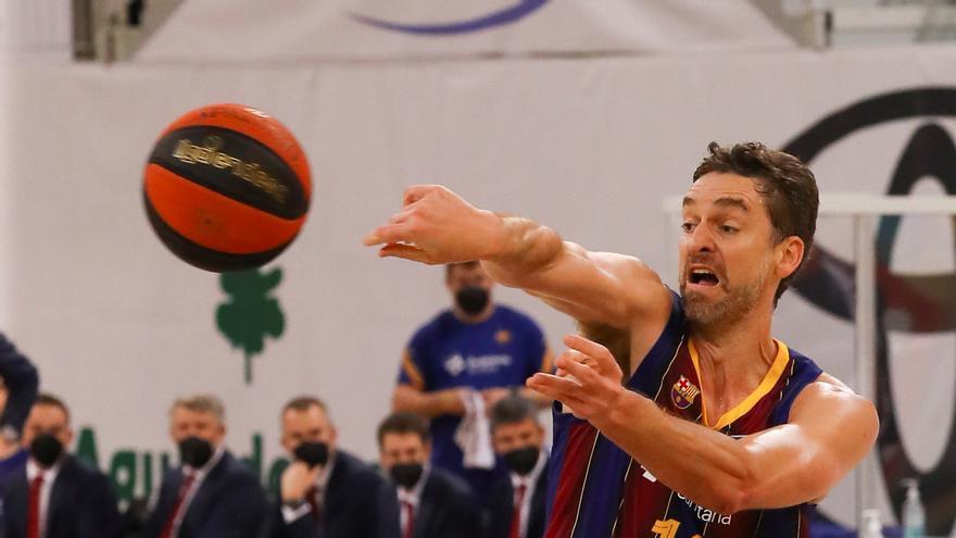 Gasol y Bolmaro lideran el triunfo del Barça en Andorra