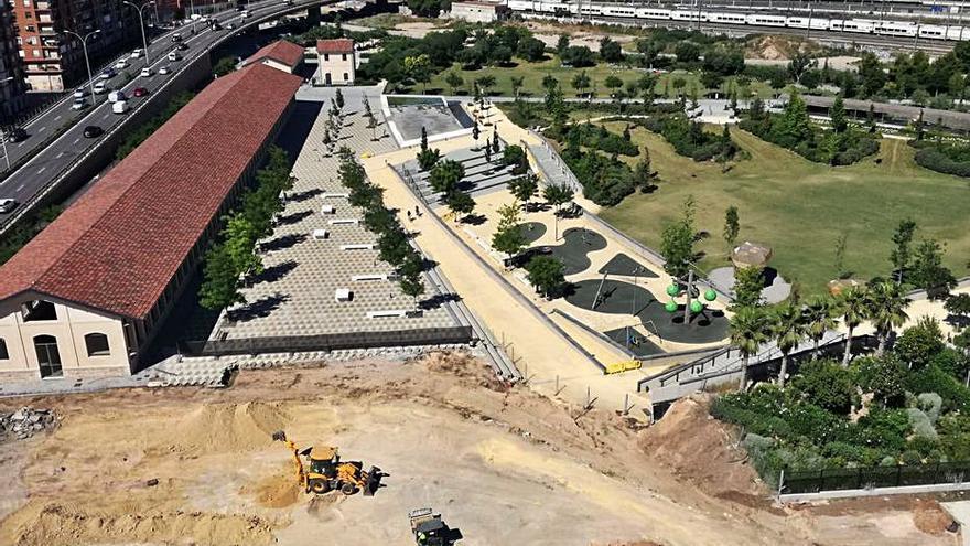 Retoman las obras del Parc Central
