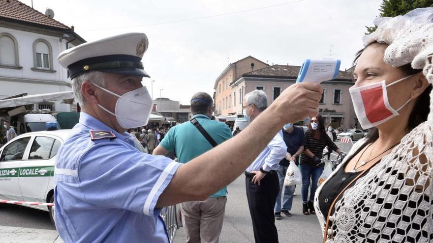 Coronavirus en Italia.