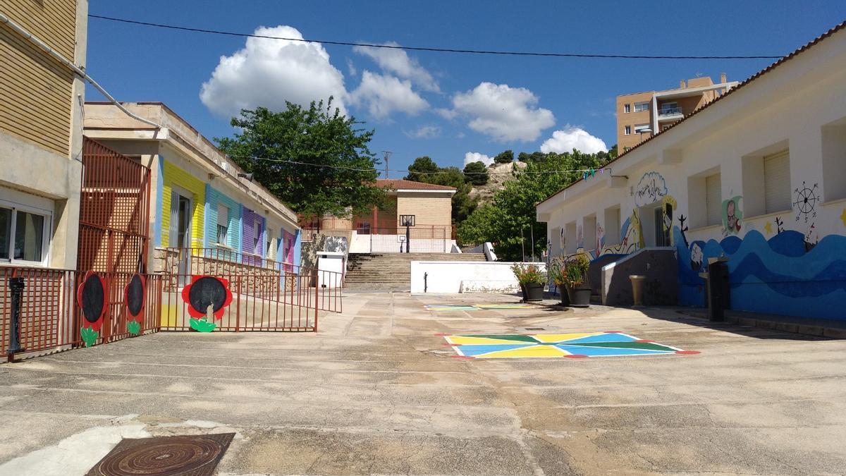 El colegio Cristòfol Colom de Xixona