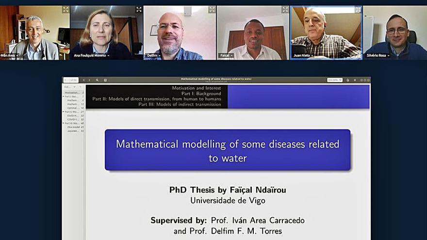 La UVigo propone modelos matemáticos para conocer la evolución del COVID-19