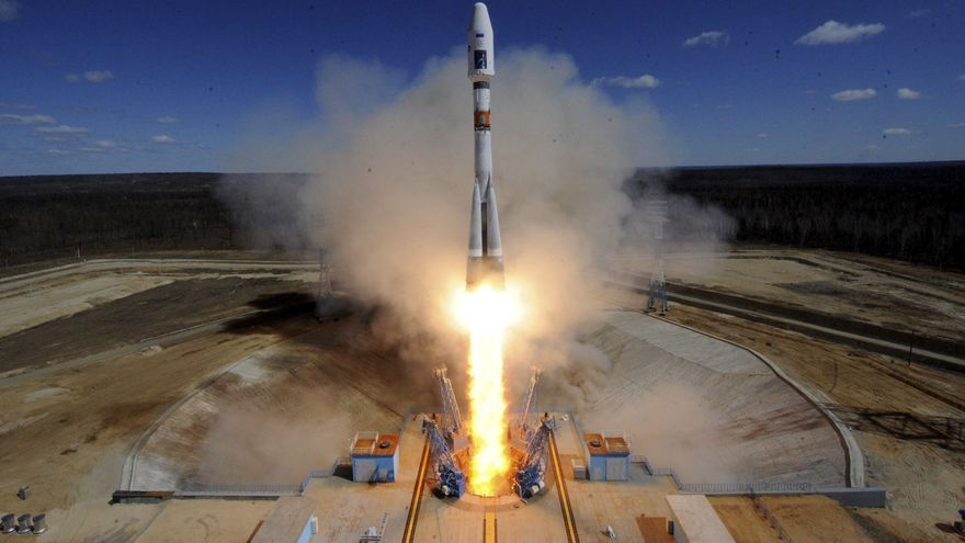Despega el carguero ruso Progress MS-17 rumbo a la Estación Espacial Internacional