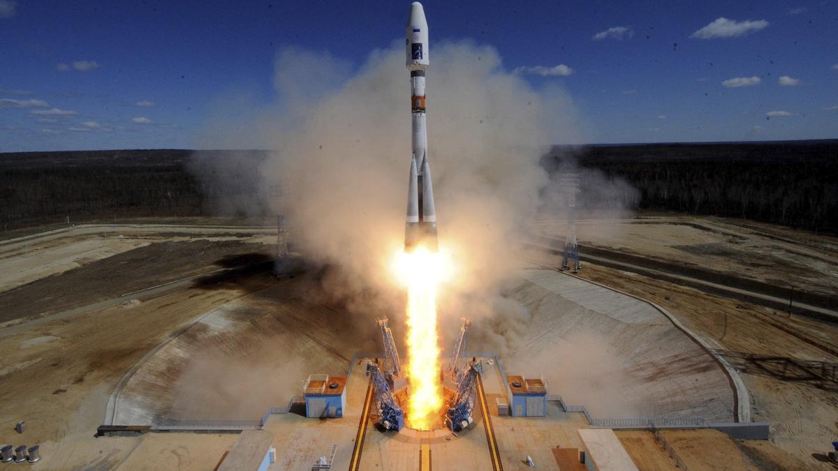 Rusia lanza a la Estación Espacial Internacional el carguero Progress MS-17.