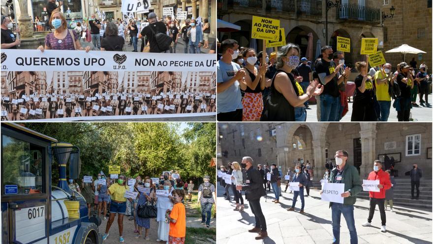Ourense, una ciudad en pie de guerra por la emergencia termal y el apagón cultural
