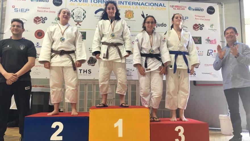 Gran paper d'Hajime, al Torneig Internacional de judo Vila d'Andorra