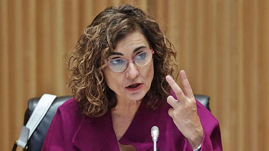 La ministra d'Hisenda, María Jesús Montero | EP