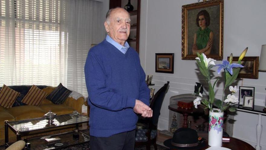 Luto en la medicina asturiana: Fallece en Madrid, a los 101 años, el cirujano ovetense Santiago Gómez-Morán