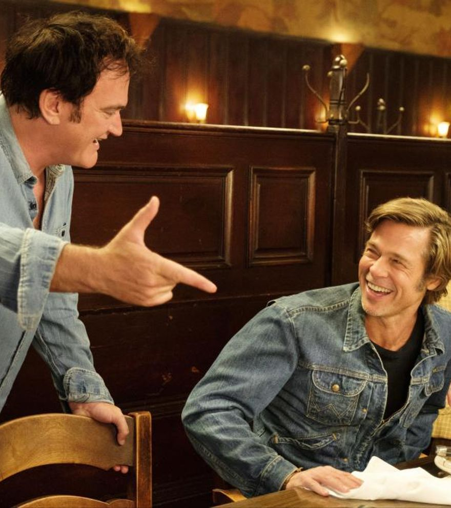 Tarantino y Brad Pitt, mezcla perfecta para este domingo