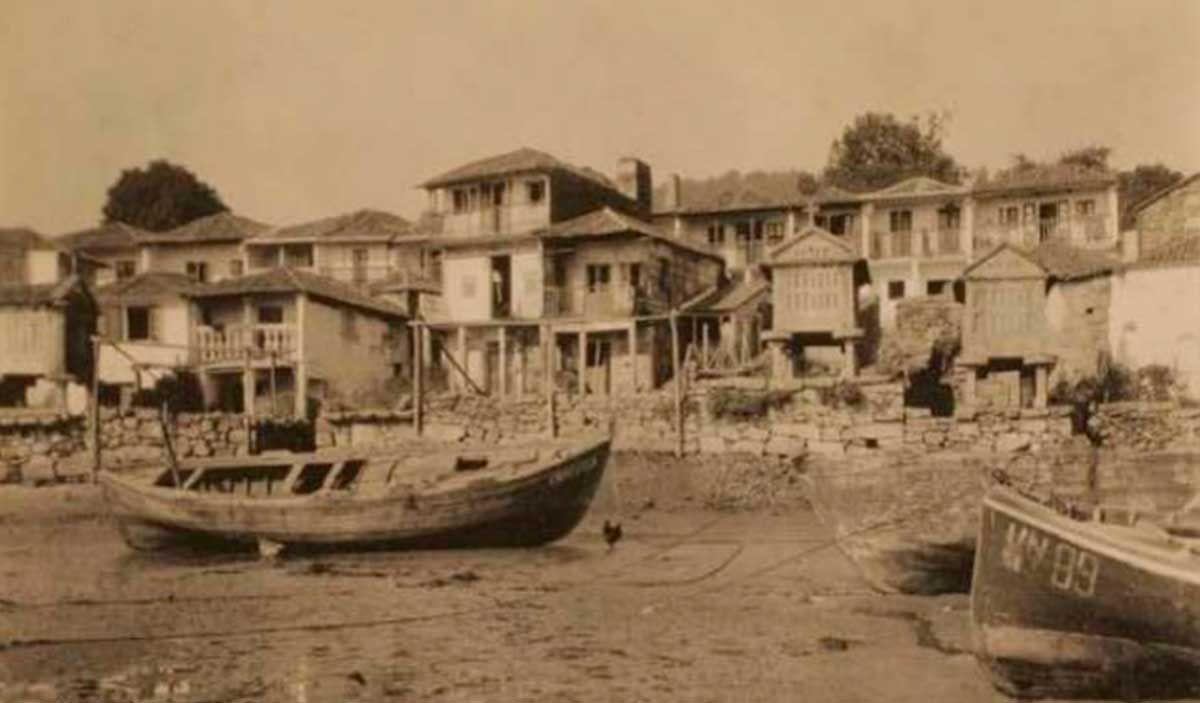 Vista de Combarro 1929-30 por Otto Wonderlich IPCE
