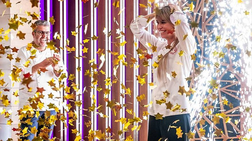 Raquel Meroño gana 'Masterchef Celebrity'