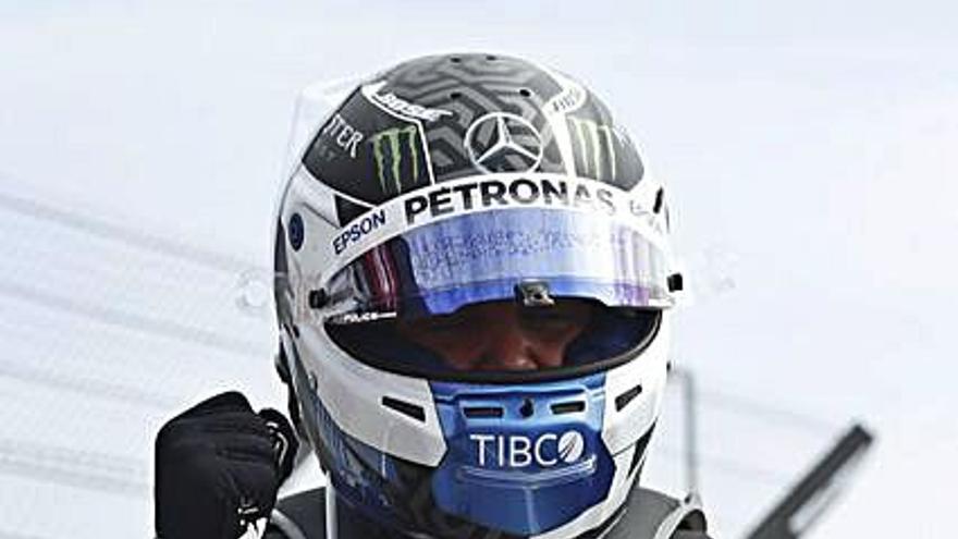 "Bottas logra la ""pole"" en Silverstone"