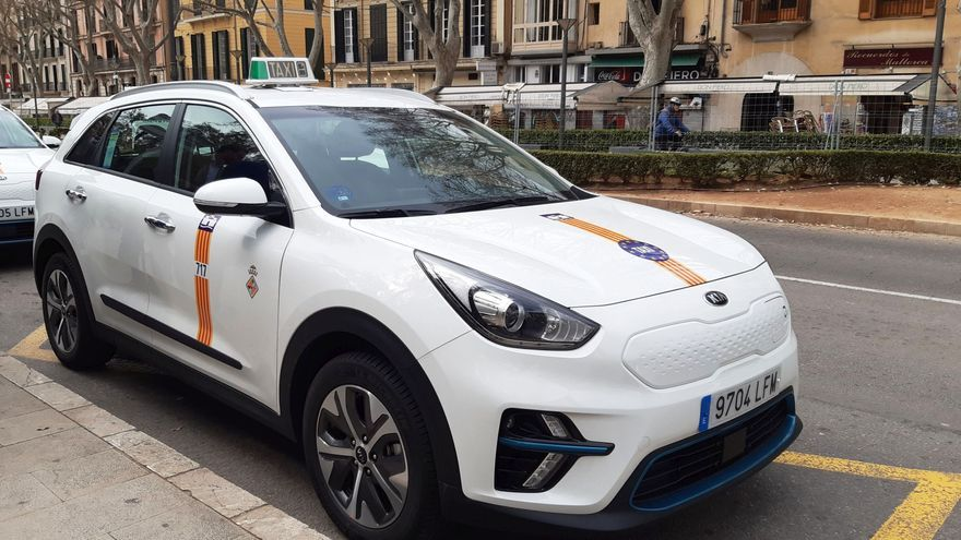 Un 60% de la flota de taxis de Palma podrá trabajar a partir del próximo domingo