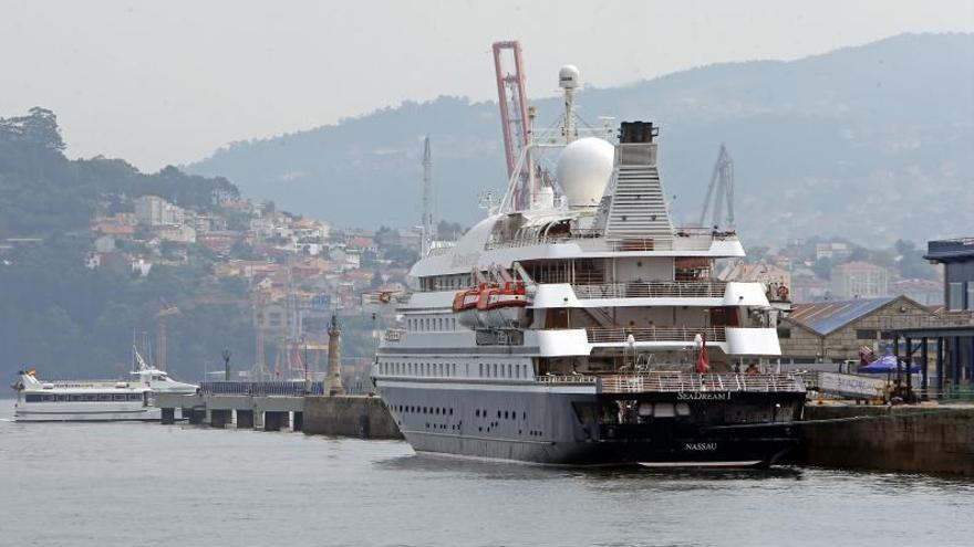 Los cruceros vuelven en julio a Vigo