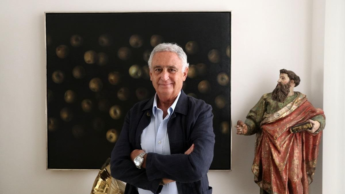 Antonio Pedraza, en su despacho.